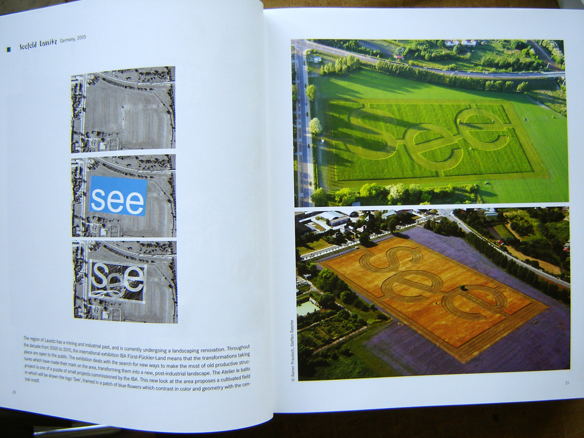 Real See-Field seen from the sky. pp. 20-21