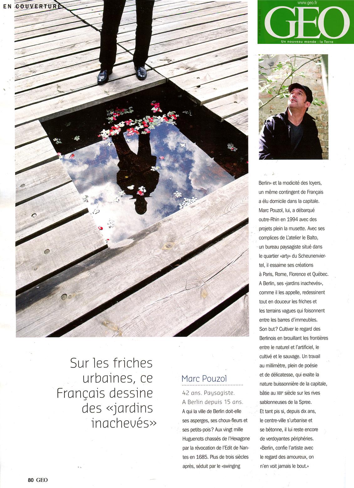 """Page 80, chapitre: """"Tous d'ailleurs mais tous berlinois"""". Photo: Jan Windszus"""