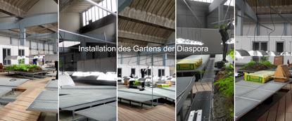 Installation des Gartens web