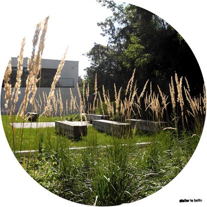 Garten der neuen Forschungsgewächshäuser web
